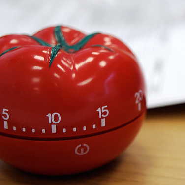 Photograph of Pomodoro timer